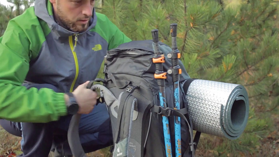 раница за преходи и палатки