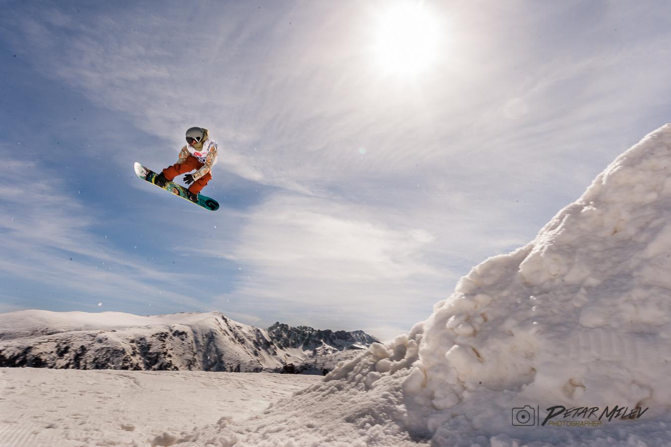 Petar Gyosharkov freestyle snowboarding slopestyle